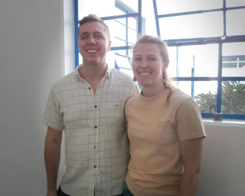 <p><b> 21 de enero de 2020  </b></p><p> Shannon Tinken y Sam Tinken. </p>